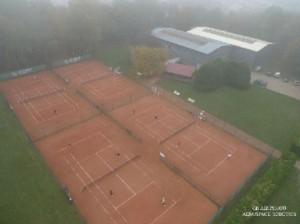 Vue aérienne du TC Dombasle.
